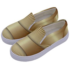 Gold8 Kids  Canvas Slip Ons by 8fugoso