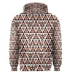 Snowflake With Crystal Shapes 2 Men s Pullover Hoodie by Cveti