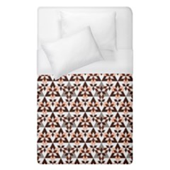 Snowflake With Crystal Shapes 2 Duvet Cover (single Size) by Cveti