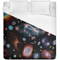 Galaxy Nebula Duvet Cover (king Size) by Celenk