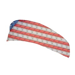 Geometricus Usa Flag Stretchable Headband