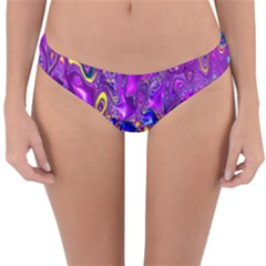 Melted Fractal 1a Reversible Hipster Bikini Bottoms