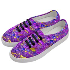 Melted Fractal 1a Women s Classic Low Top Sneakers by MoreColorsinLife