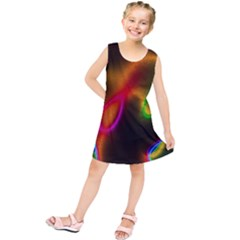 Vibrant Fantasy 4 Kids  Tunic Dress by MoreColorsinLife