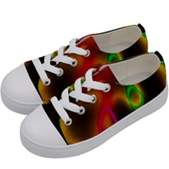 Vibrant Fantasy 4 Kids  Low Top Canvas Sneakers by MoreColorsinLife