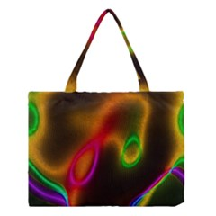 Vibrant Fantasy 4 Medium Tote Bag by MoreColorsinLife