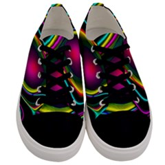 Vibrant Fantasy 5 Men s Low Top Canvas Sneakers