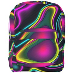 Vibrant Fantasy 5 Full Print Backpack by MoreColorsinLife
