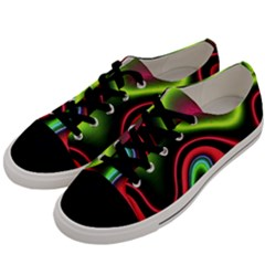 Vibrant Fantasy 1b Men s Low Top Canvas Sneakers by MoreColorsinLife