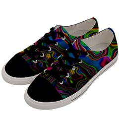 Vibrant Fantasy 6 Men s Low Top Canvas Sneakers by MoreColorsinLife