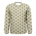 Flower Of Life Pattern Cold White Men s Long Sleeve Tee View1