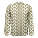 Flower Of Life Pattern Cold White Men s Long Sleeve Tee View2