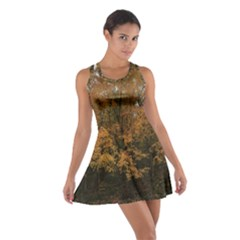 Autumn Tree By Jay Peak Cotton Racerback Dress