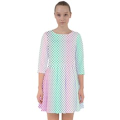 Pattern Smock Dress by gasi