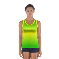 Pattern Sport Tank Top  by gasi