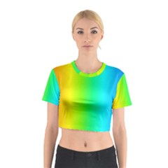 Pattern Cotton Crop Top by gasi