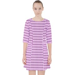Pattern Pocket Dress by gasi
