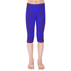 Pattern Kids  Capri Leggings  by gasi
