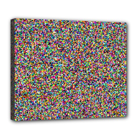 Pattern Deluxe Canvas 24  X 20   by gasi