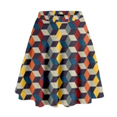 Native American Pattern 3 High Waist Skirt by Cveti