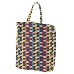 Native American Pattern 3 Giant Grocery Zipper Tote by Cveti