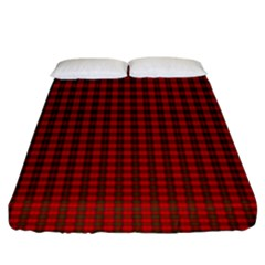 Royal Stuart Tartan Fitted Sheet (king Size) by PodArtist