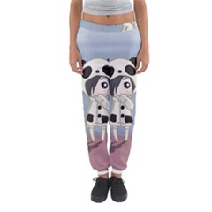 Kawaii Panda Girl Women s Jogger Sweatpants