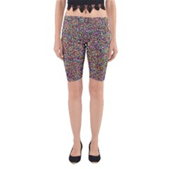 Pattern Yoga Cropped Leggings by gasi