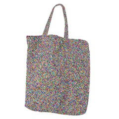 Pattern Giant Grocery Zipper Tote by gasi
