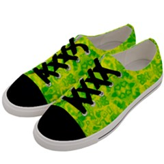 Pattern Men s Low Top Canvas Sneakers by gasi