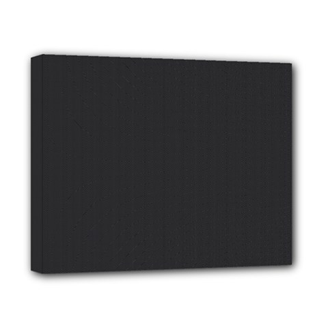 Simulated Black Carbon Fiber Steel Canvas 10  X 8