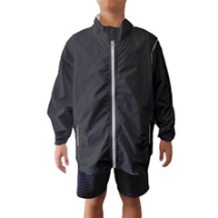 Simulated Black Carbon Fiber Steel Wind Breaker (kids) by PodArtist