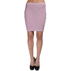 Baby Pink Stitched And Quilted Pattern Bodycon Skirt by PodArtist