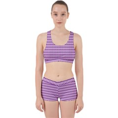 Pattern Work It Out Sports Bra Set by gasi