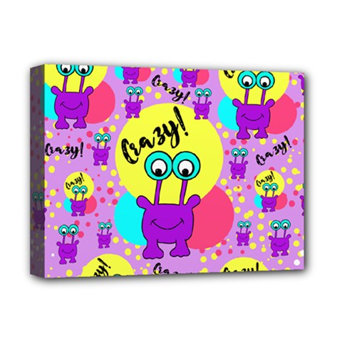 Crazy Deluxe Canvas 16  X 12   by gasi