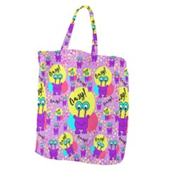Crazy Giant Grocery Zipper Tote by gasi