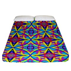 Pattern Fitted Sheet (king Size) by gasi