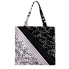 Pattern Zipper Grocery Tote Bag by gasi