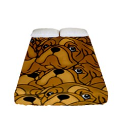 Bulldogge Fitted Sheet (full/ Double Size) by gasi