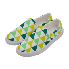 Pattern Women s Canvas Slip Ons by gasi