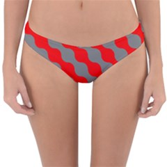 Pattern Reversible Hipster Bikini Bottoms by gasi