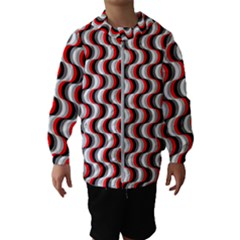 Pattern Hooded Wind Breaker (kids) by gasi