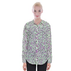 Pattern Womens Long Sleeve Shirt by gasi