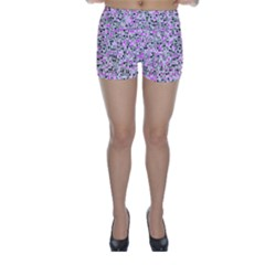 Pattern Skinny Shorts by gasi