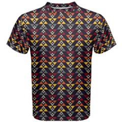 Native American Pattern Men s Cotton Tee