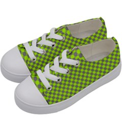 Pattern Kids  Low Top Canvas Sneakers by gasi