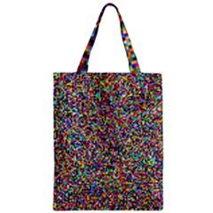 Pattern Zipper Classic Tote Bag by gasi