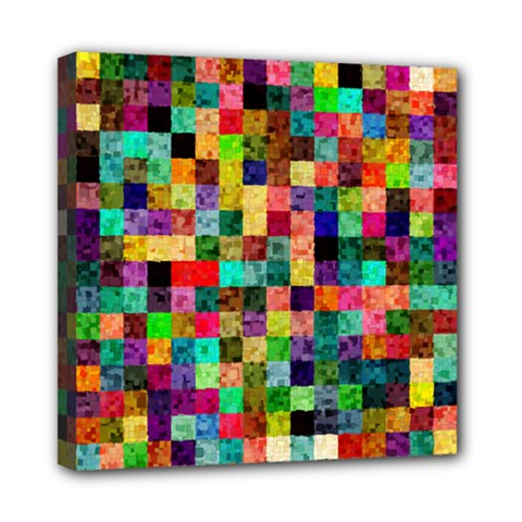Pattern Mini Canvas 8  X 8  by gasi