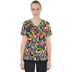 Pattern Scrub Top by gasi