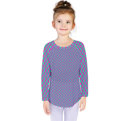 Pattern Kids  Long Sleeve Tee by gasi
